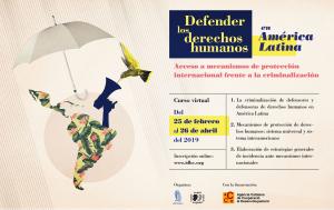 Formación on-line: Defender los derechos humanos en América Latina @ aulaIDHC.org