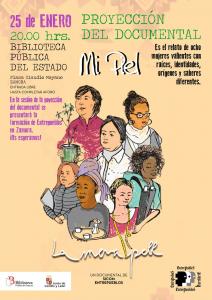 Zamora: Proyección Mi piel @ Biblioteca Pública Zamora