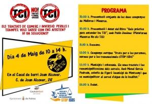 Palma de Mallorca: Jornada contra los TCI @ Casal de barri Joan Alcover
