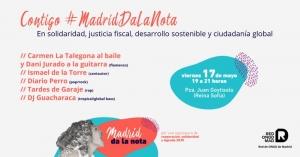 Madrid: Contigo #MadridDaLaNota @ Plaza de Juan Goytisolo