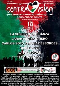 """Valladolid: Festival """"ContraVisión. Cero Check Points"""" @ Plaza Cantarranillas"""