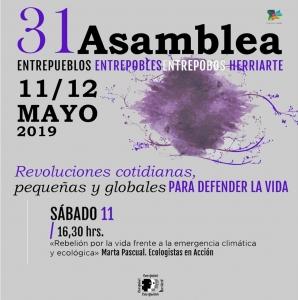 """Zamora: Conferencia """"Rebelión por la vida frente a la emergencia climática y ecológica"""" @ Museo Etnográfico de Castilla y León"""