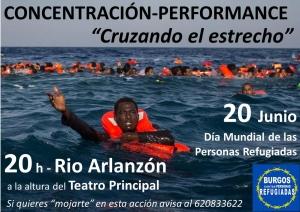 Burgos: Cruzando el estrecho @ Río Arlazón