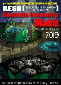 Madrid: II Encuentro Red Europea de Solidaridad con Honduras