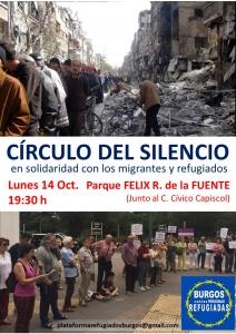Burgos: Círculo del Silencio @ Parque Félix Rodríguez