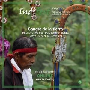 "On line: Presentación documental ""Sangre de la tierra"". IndiFest"