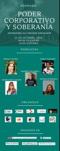 Webinario: Poder corporativo y soberanía @ FB Live: https://www.facebook.com/udapt.oficial