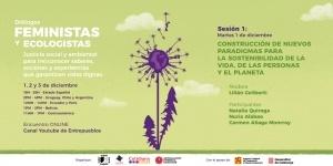 Diálogos feministas y ecologistas: Construcción de nuevos paradigmas para la sostenibilidad de la vida, de las personas y el planeta