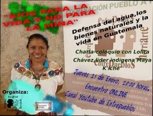 """Burgos: Charla-coloquio """"Ríos para la vida y no para la mina"""" @ Youtube Entrepueblos"""