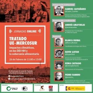 Jornadas online: Tratado UE-MERCOSUR