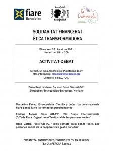 Solidaridad Financiera y Ética Transformadora