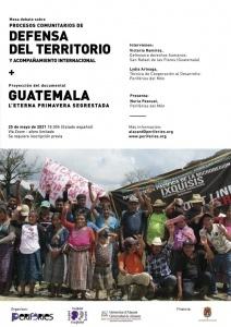 Mesa debate: Procesos comunitarios de defensa del territorio...