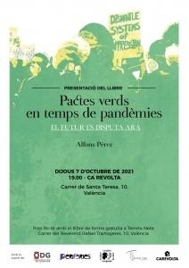 Presentació del llibre : Pactes verds en temps de pandèmies