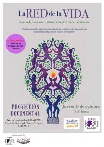 Proyección del documental: La Red de la Vida @ Centro Municipal de LAS ARTES